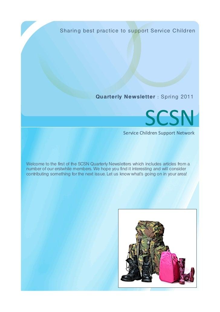 Scsn newsletter   march 11