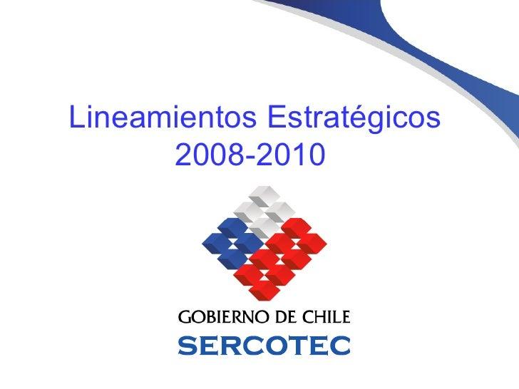 Lineamientos Estratégicos 2008-2010