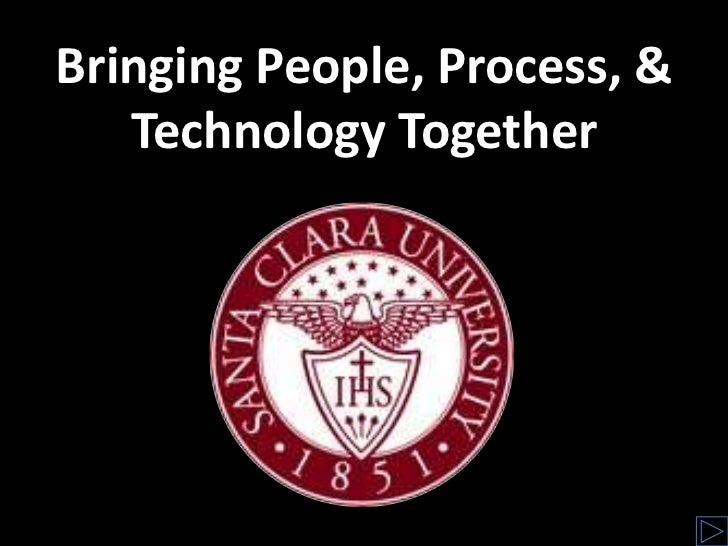Bringing People, Process, & Technology Together