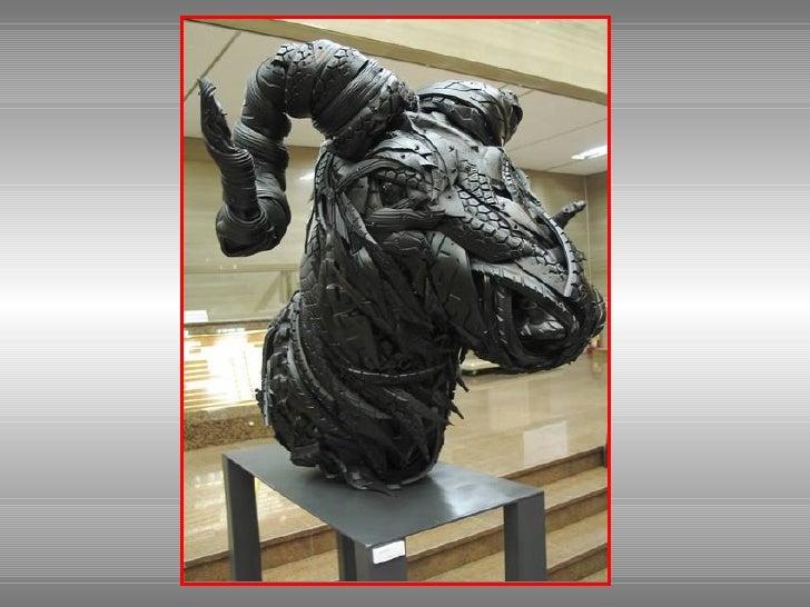 Sculptures De Pneus