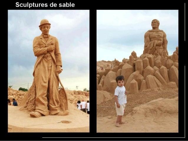 沙雕 Sculptures de sable