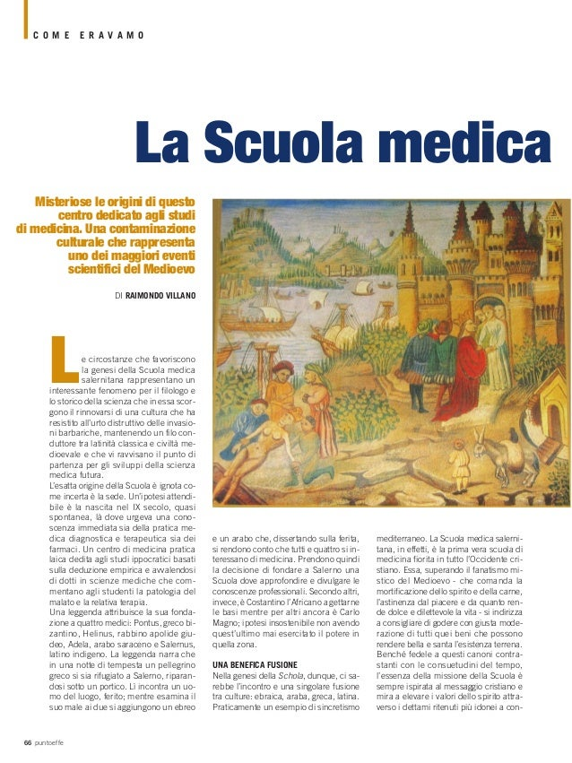 Raimondo Villano - Scuola medica salernitana
