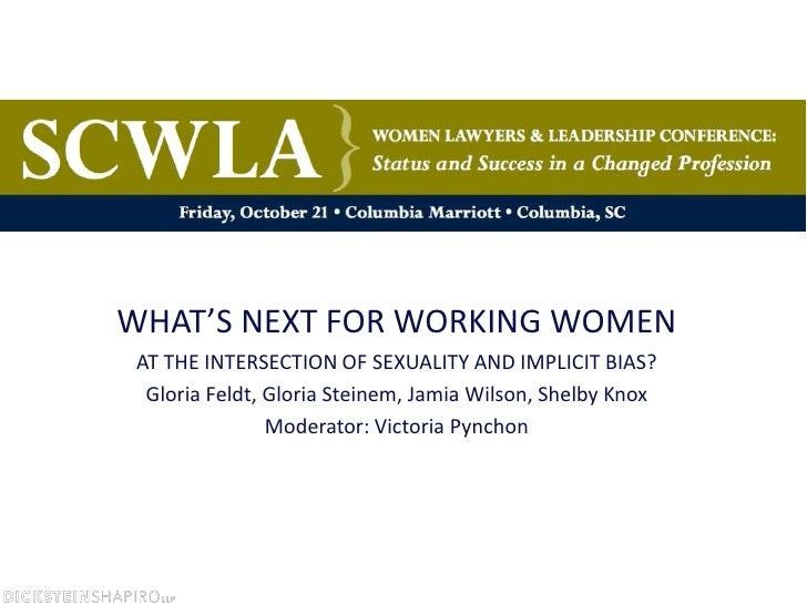 SCWLA Annual Conference - What's Next for Working Women