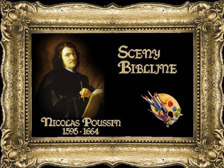 Sceny Biblijne Nicolas Poussin  1595 - 1664