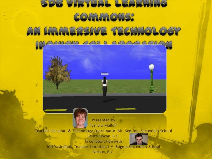 Sd8 virtual learning commons