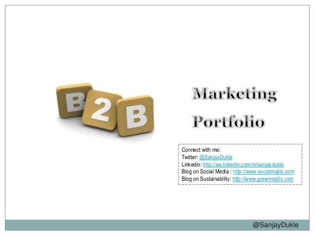 SD B2B Marketing Portfolio