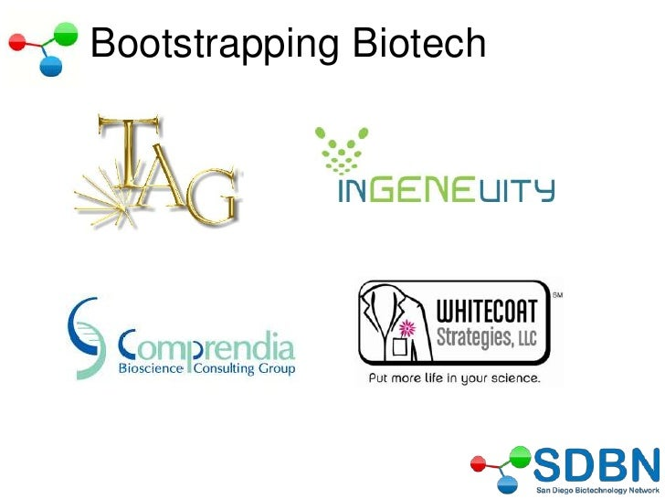 SDBN Bootstrapping Biotech Final