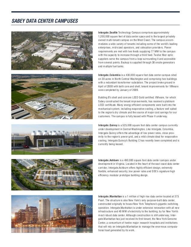 SDC Data Center Campuses Brochure