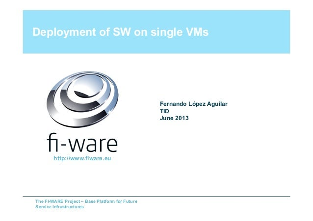SDC presentation (FIWARE Cloud GEi)