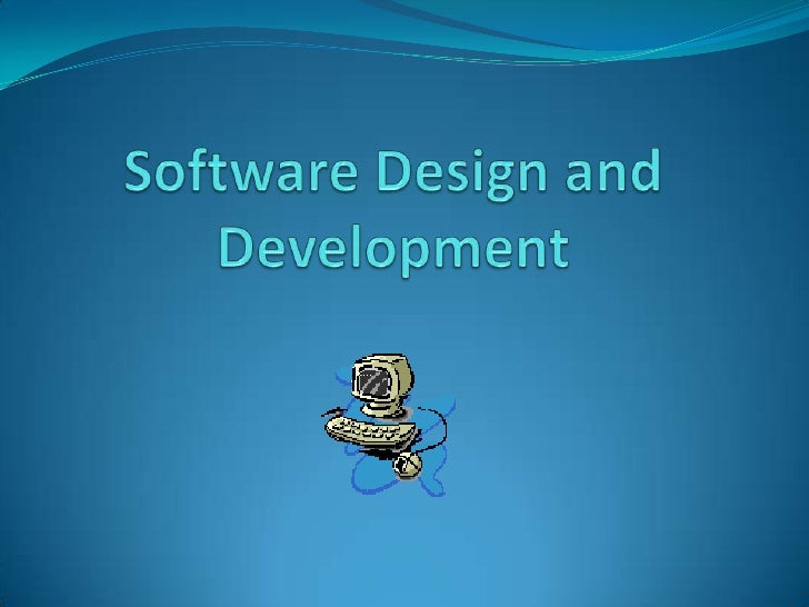 2 Unit Software Design and Development  SDDSoftware Design and Development provides student withskills to program computer...