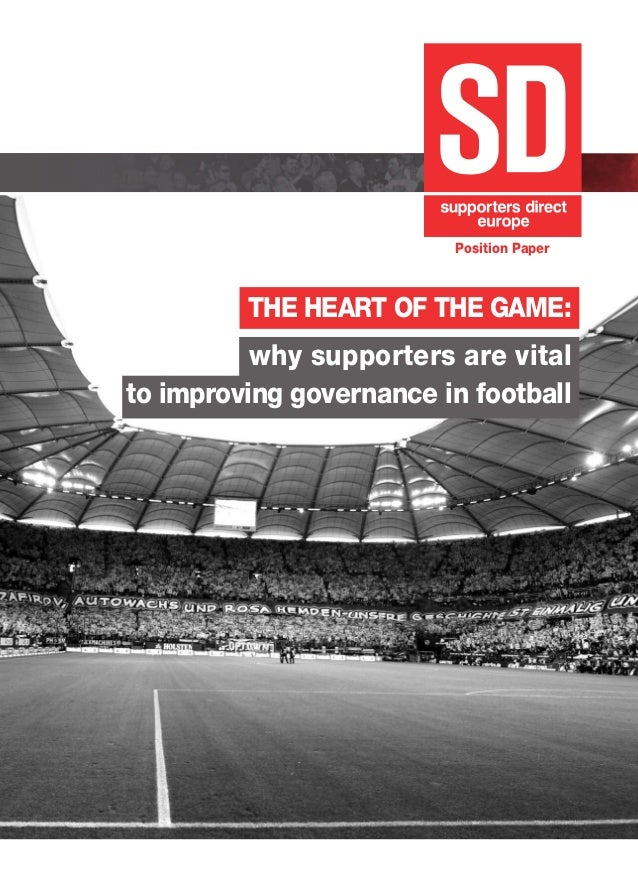 Supporters Direct Europe - EU Position Paper