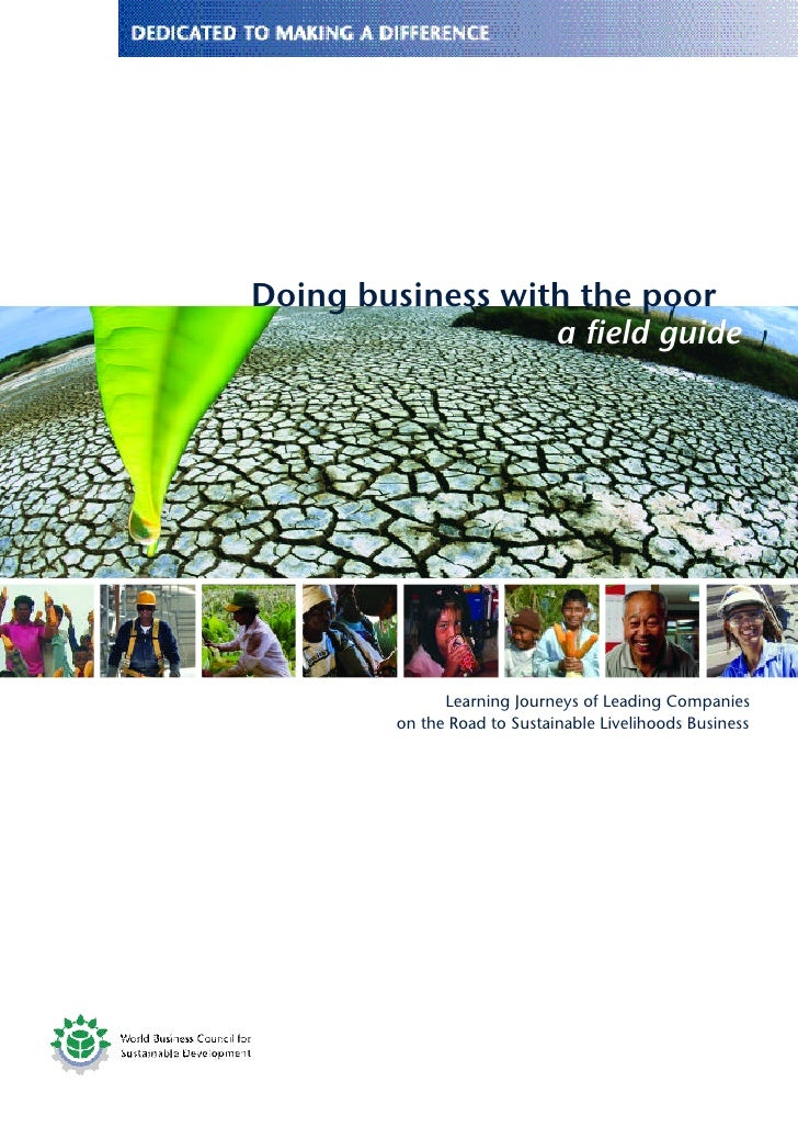 Doing business with the poor                   a field guide                    Learning Journeys of Leading Companies    ...