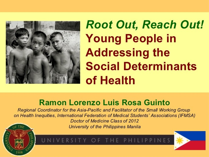 Root Out, Reach Out!                                  Young People in                                  Addressing the     ...