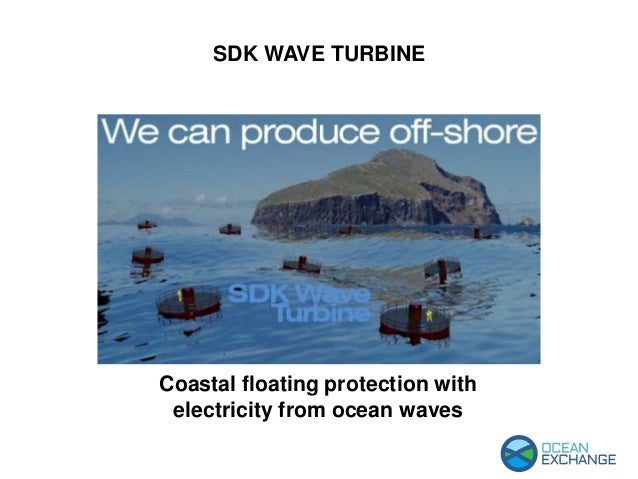 SDK Wave Turbine