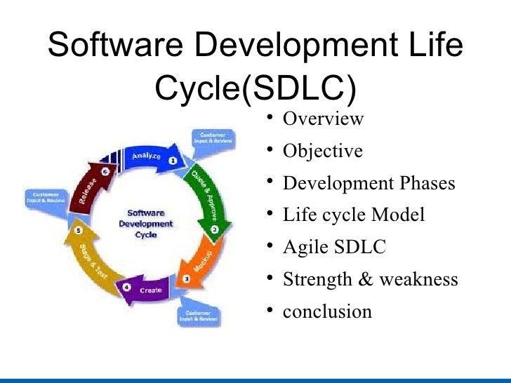 Software Development Life Cycle(SDLC) <ul><li>Overview </li></ul><ul><li>Objective </li></ul><ul><li>Development Phases <...