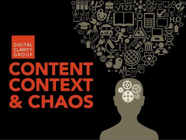 Content Context & Chaos