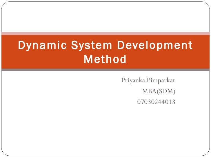 Presentation for Software Development Methologies