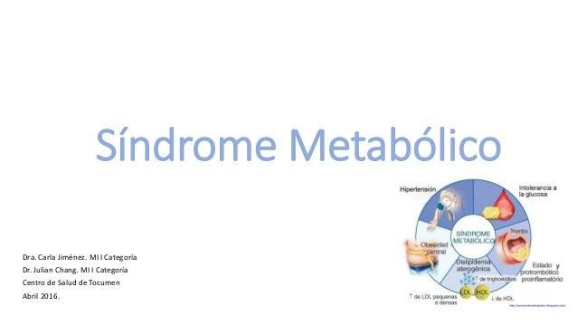 Sindrome metabolico o Sindrome X