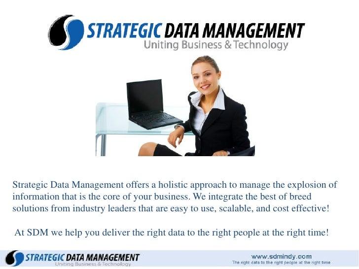 Strategic Data Management Presentation
