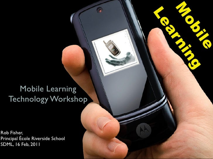 Mobile learning workshop and ipod touch infusion