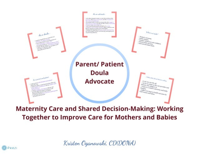 Maternity Care and Shared Decision Making: Improving Care for Mothers and Babies