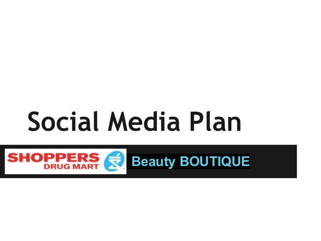 Social Media PlanBeauty BOUTIQUE