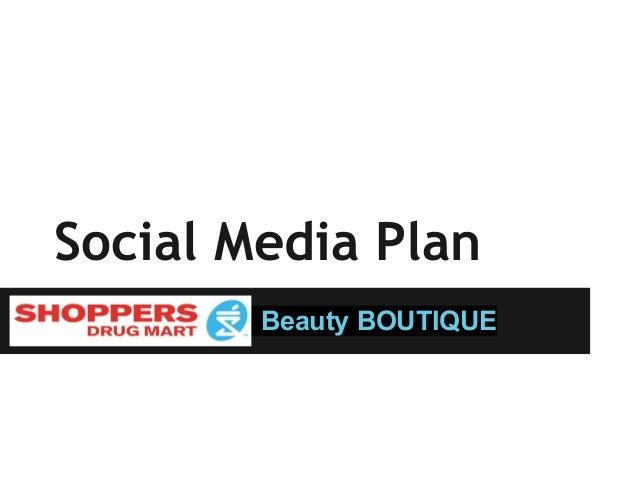 Mock SDM Social Media Plan