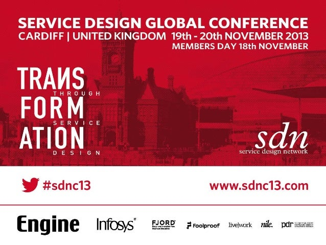 SDNC13 -DAY2- Is there a model approach for service design transformation by Phil Goad
