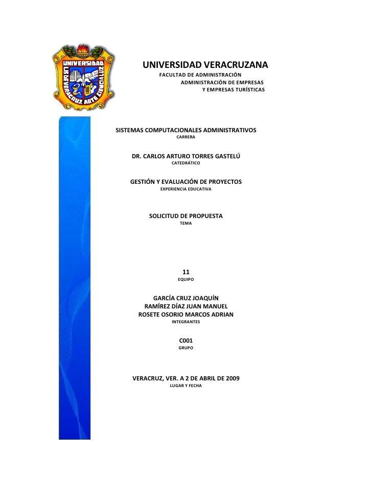 UNIVERSIDAD VERACRUZANA             FACULTAD DE ADMINISTRACIÓN                    ADMINISTRACIÓN DE EMPRESAS              ...
