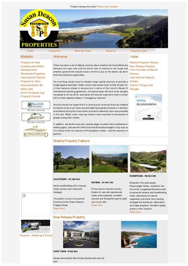 SDP Group Newsletter - middle November 2010