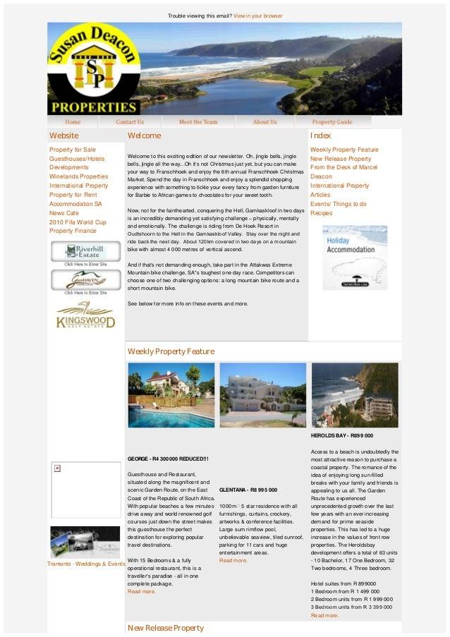 SDP Newsletter November 2010
