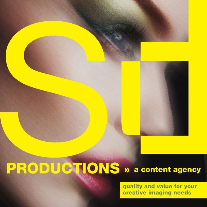 PRODUCTIONS » a content agency                  quality and value for your                  creative imaging needs