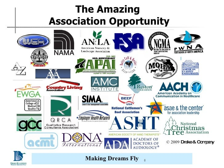 The Amazing  Association Opportunity © 2009  Drake & Company