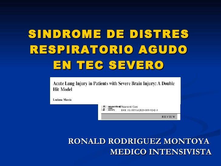 Sdra Neurocriticos 2009