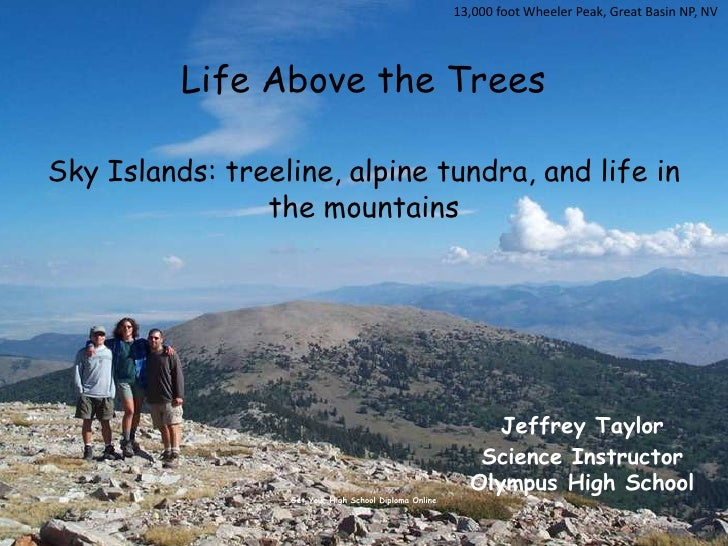 13,000 foot Wheeler Peak, Great Basin NP, NV<br />Life Above the TreesSky Islands: treeline, alpine tundra, and life in th...