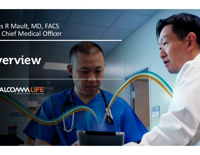 Company confid verview es  R  Mault,  MD,  FACS   &  Chief  Medical  Officer