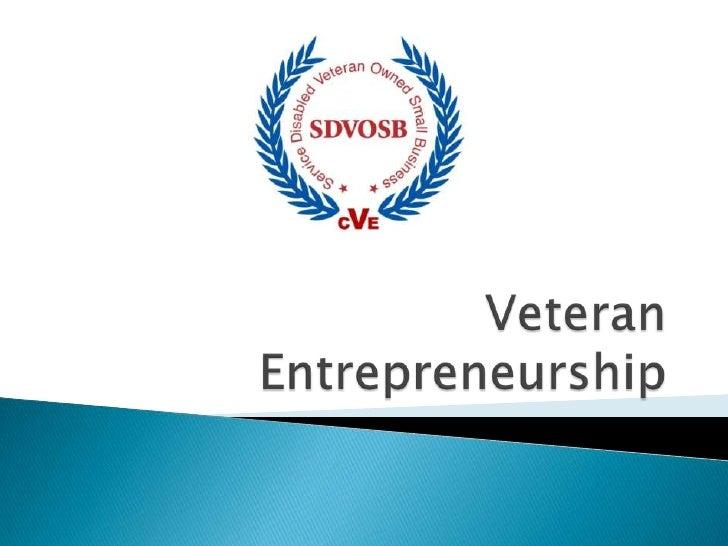 VeteranEntrepreneurship<br />