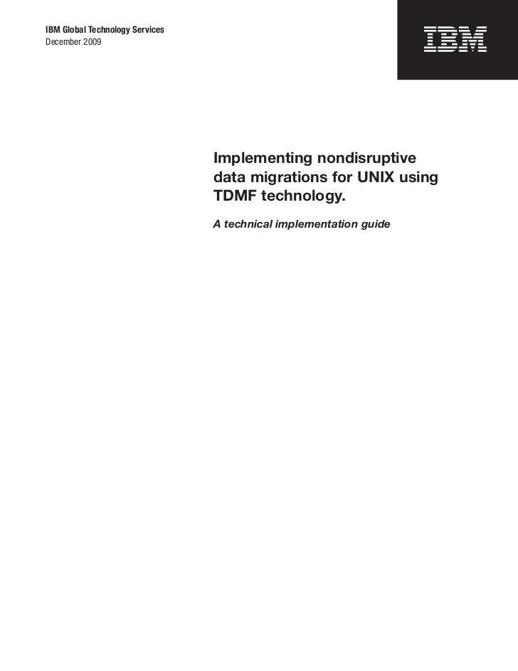 IBM Global Technology ServicesDecember 2009                                 Implementing nondisruptive                    ...