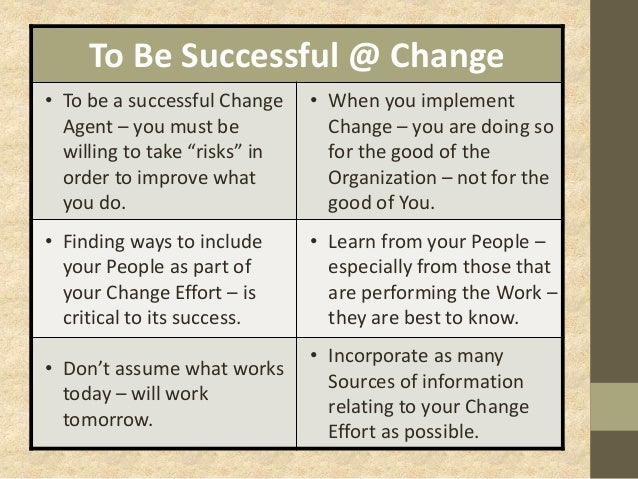 implementing change in the workplace Knowing these 12 reasons why employees resist change in the workplace knowing these 12 reasons why employees resist change in to implement the changes.