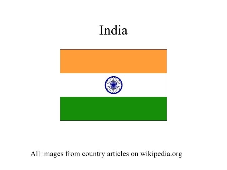 India All images from country articles on wikipedia.org