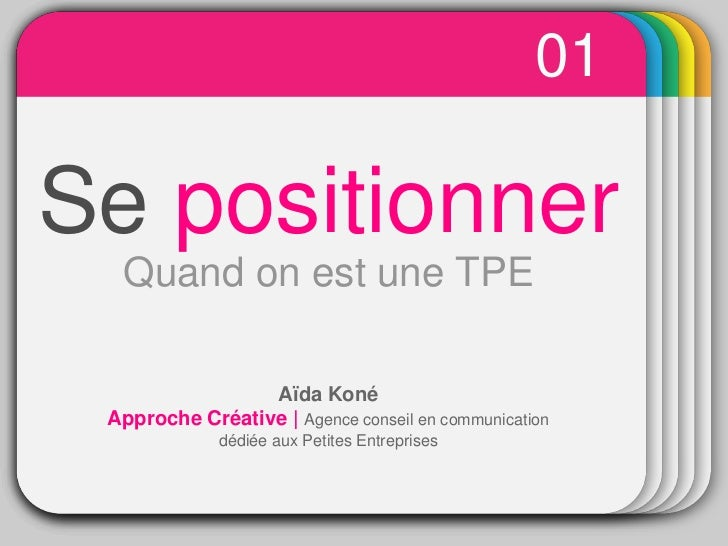 01                  WINTER                    TemplateSe positionner  Quand on est une TPE                 Aïda Koné Appro...