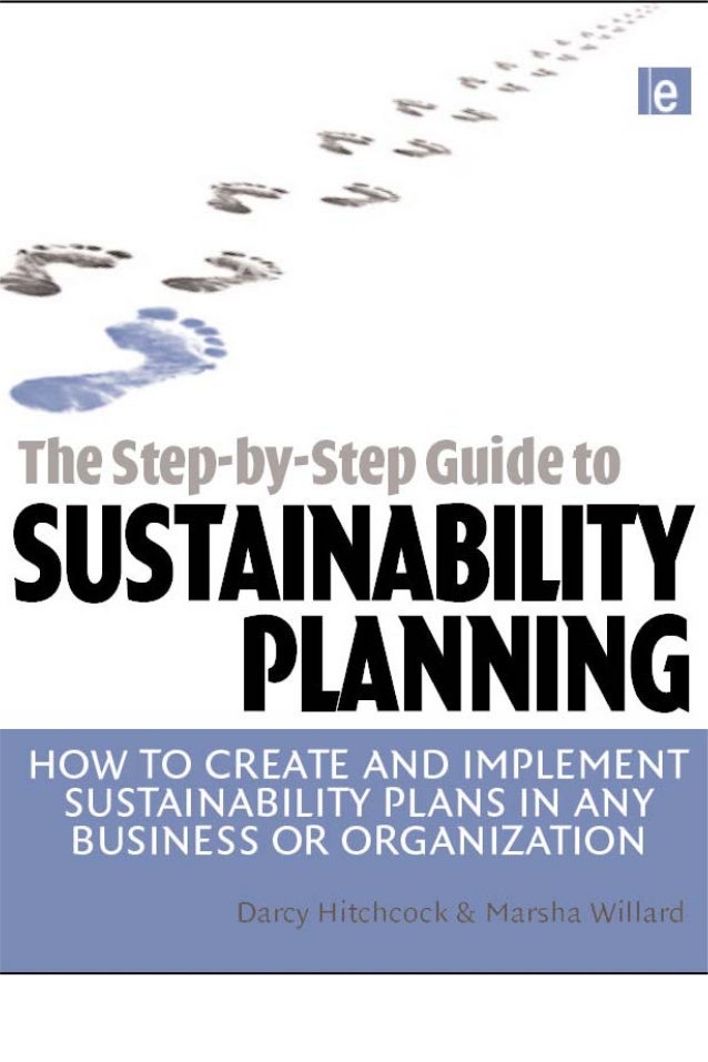 Prelims.qxd   10/1/2008   7:33 PM   Page i                 The Step-by-Step Guide to Sustainability Planning