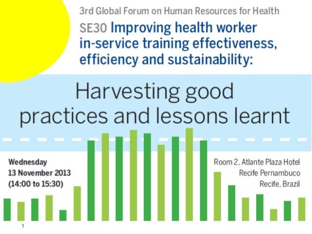 Se30   improving hw ist - harvesting good practices and lessons learnt