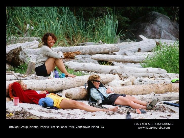 Sea Kayaking in the Broken Group Islands