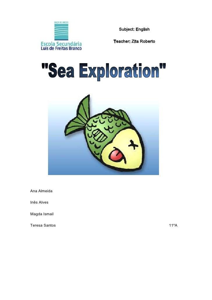 Sea exploration