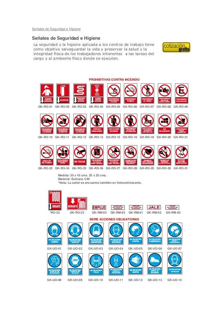 Señales de Seguridad e HigieneSeñales de Seguridad e HigieneLa seguridad y la higiene aplicada a los centros de trabajo ti...