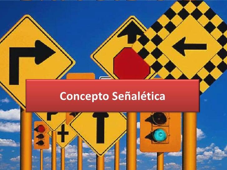 Concepto Señalética