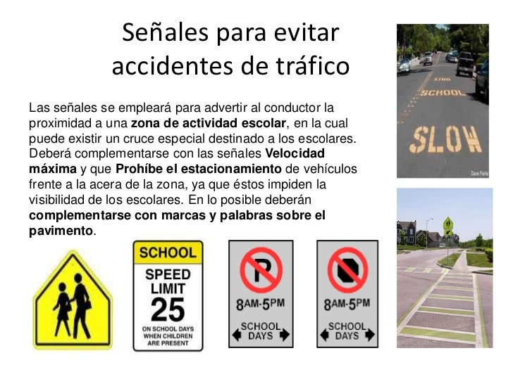 se alizaci n que previene accidentes escolares