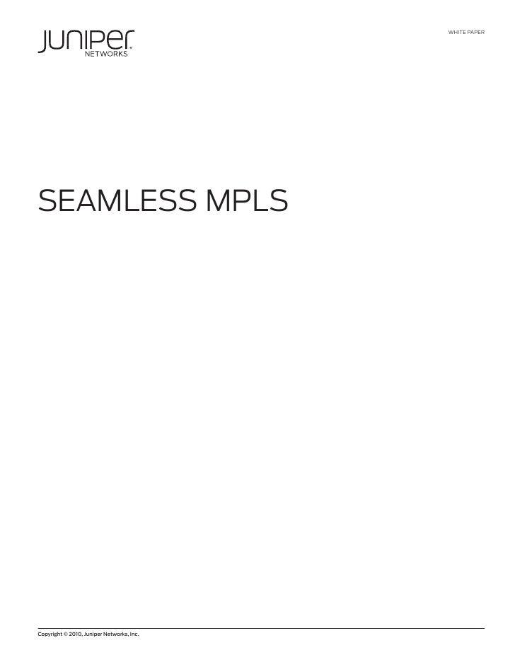 SEAMLESS MPLS