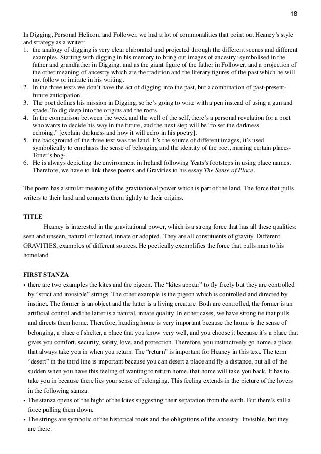 early purges seamus heaney essay coursework academic writing service early purges seamus heaney essay